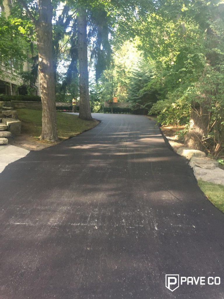 Custom Driveway Asphalt Paving