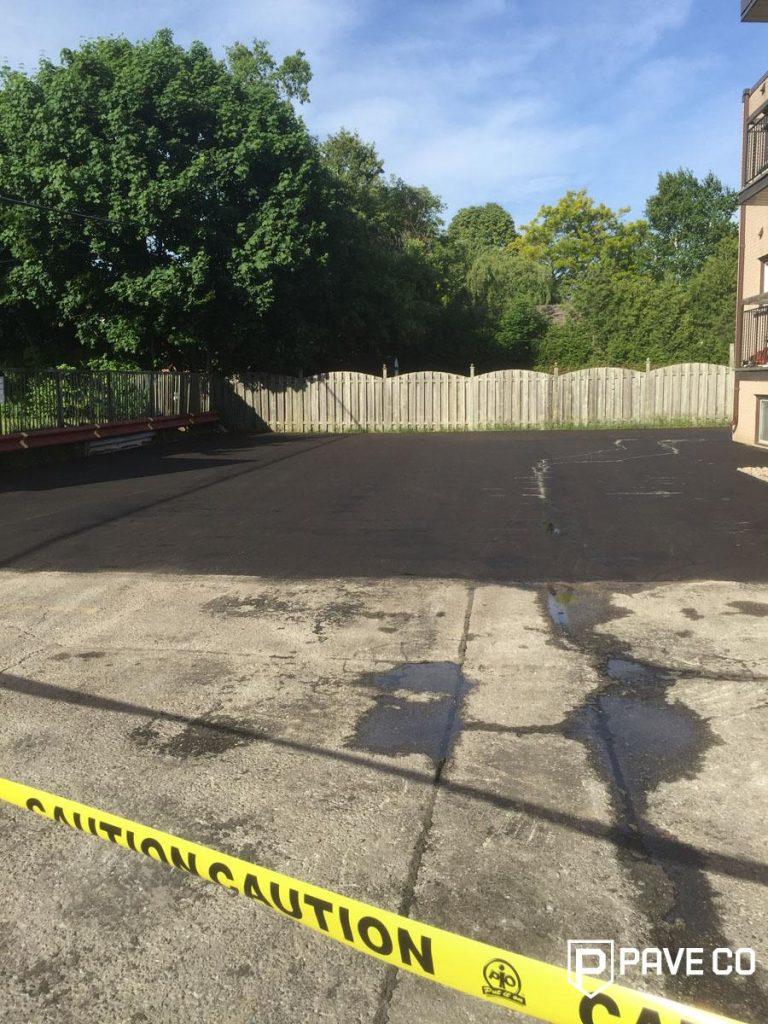 Low rise asphalt paving services