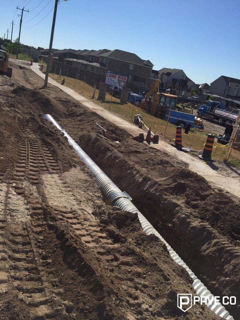 Commercial Paving Services - Excavation and prep
