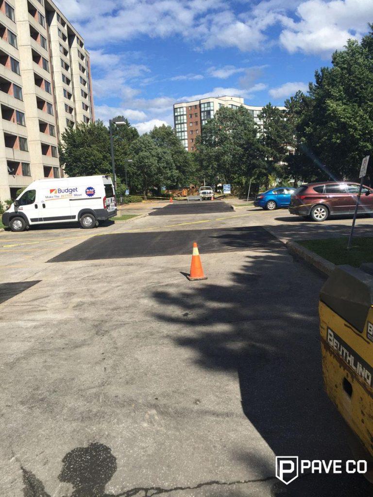 Parking Lot Paving Repairs