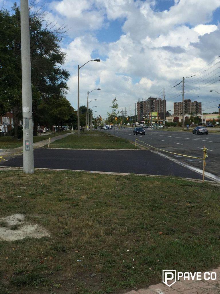 Commercial Paving Services -  Driveway Entrance Paving