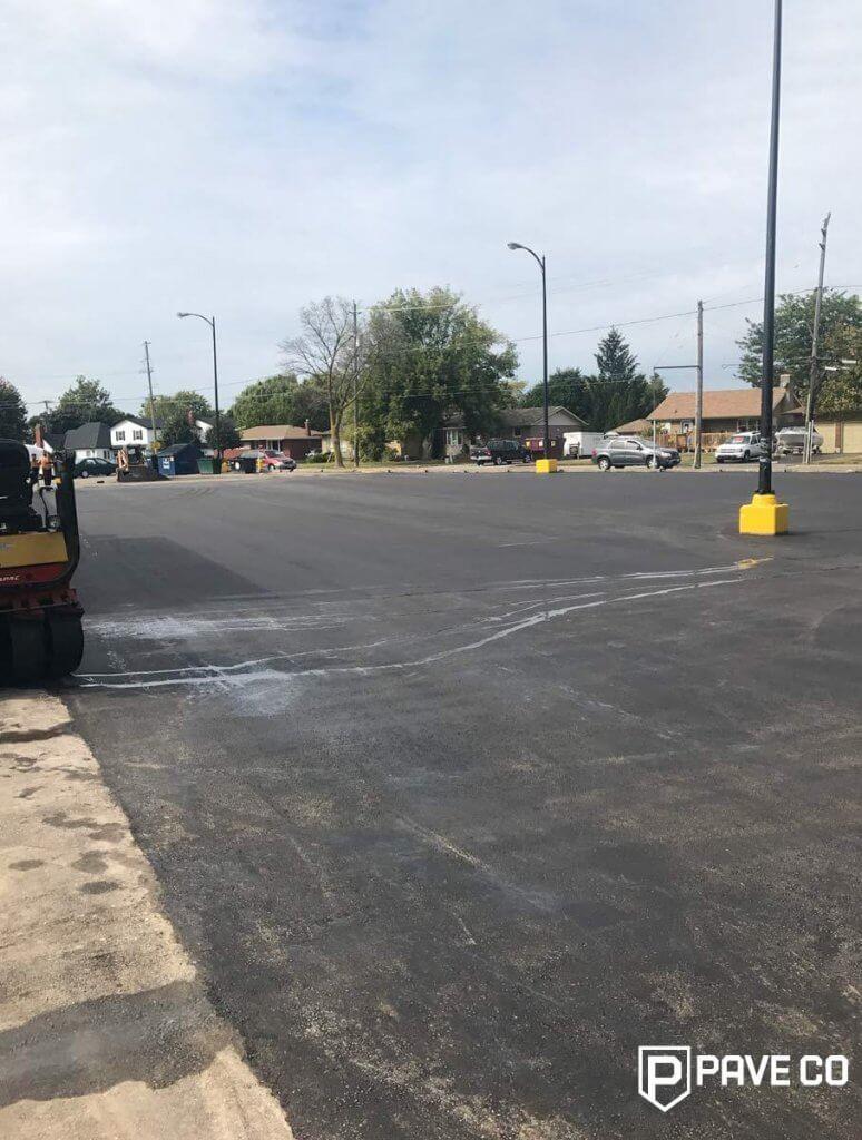Parking Lot Commercial Paving