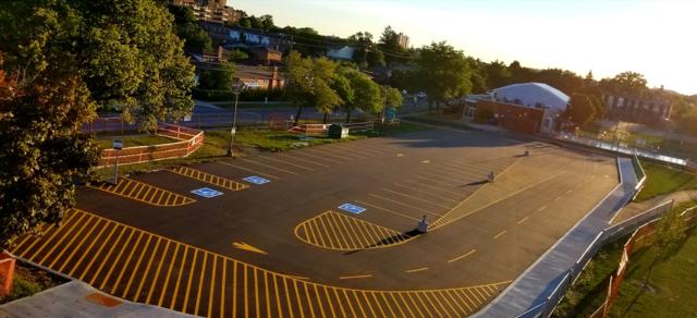Commercial Parking Lot Paving