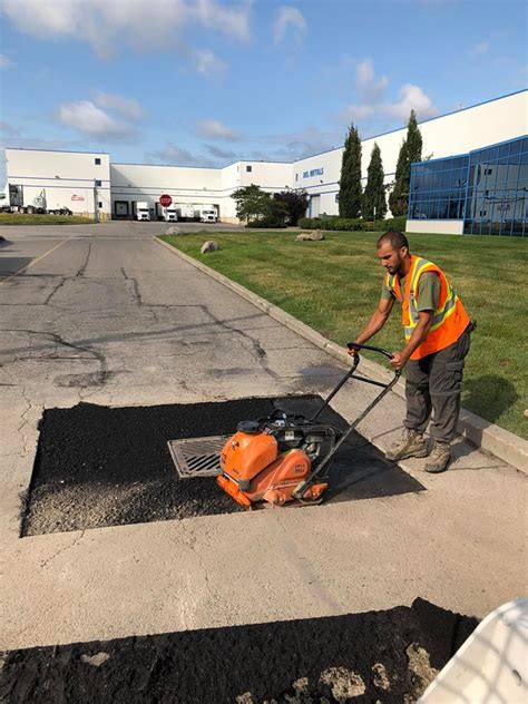 Commercial Paving Catch Basin and Mahole Repair