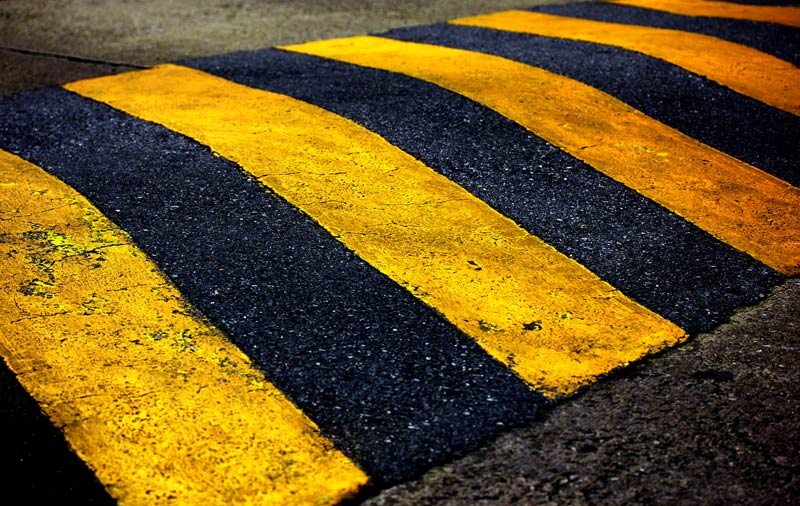 Commercial Paving Speed Bumps